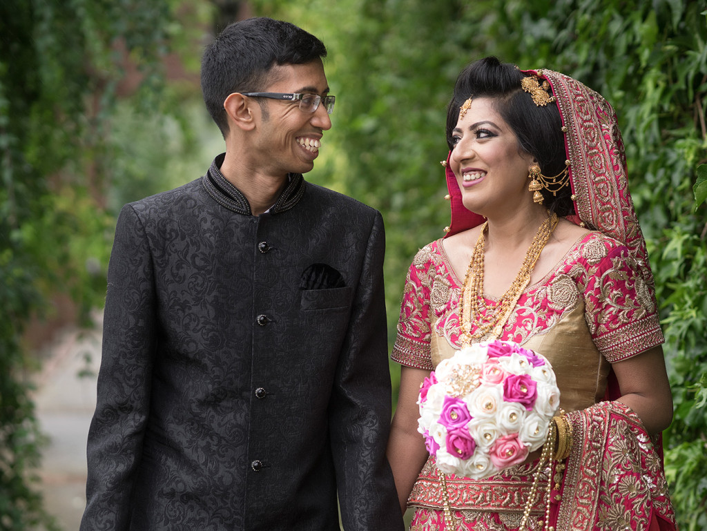 Tariq and Sumaya got hitched! Congratulations!